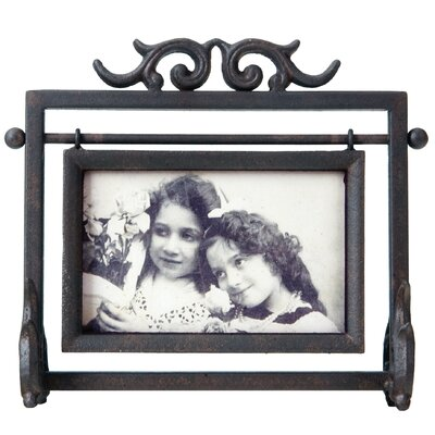 Horizontal Swinging Tabletop Picture Frame