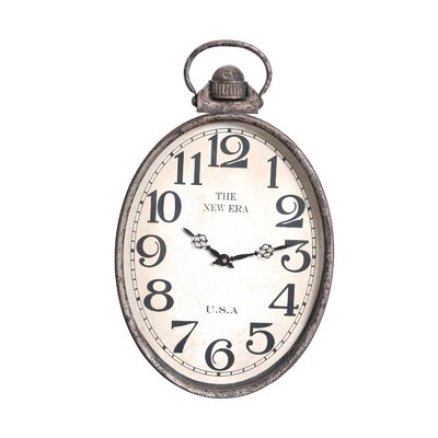Oval Antique Reproduction Wall Clock