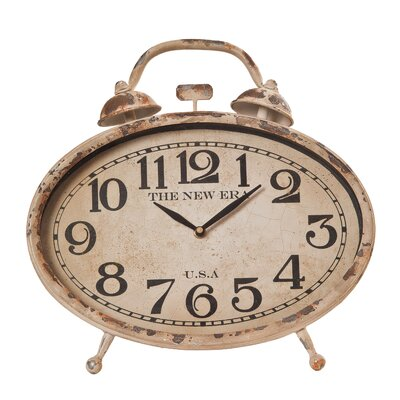 Wilco Traditional Reproduction Table Clock