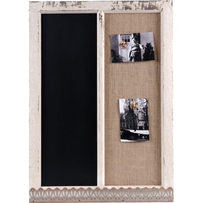 Wilco Wood Memo Holder / Blackboard