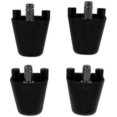 Isokinetics Ball Chair Height Adapters for Chairs (Set of 4)