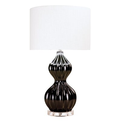 Couture, Inc. Graphic Appeal 1 Light Peanut Table Lamp