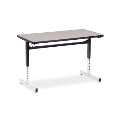"Virco 8700 Series Computer Table with 24"" x 48"" Top"
