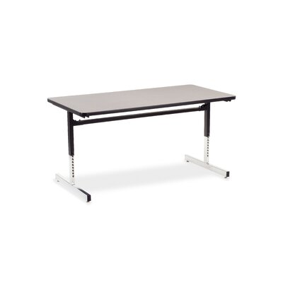 "Virco 8700 Series Computer Table with 30"" x 60"" Top"