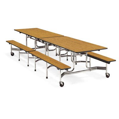Virco Mobile Bench Table
