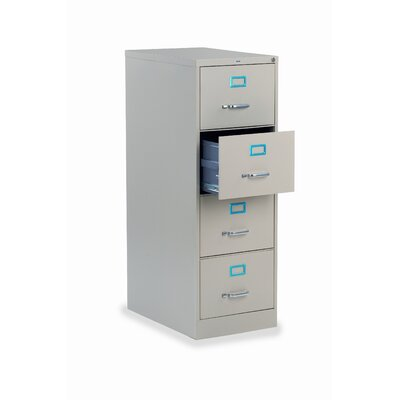 Virco 4-Drawer  Legal File Cabinet
