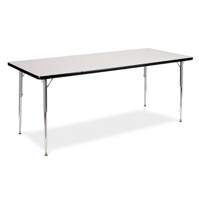 "Virco 4000 Series Activity Table with 30"" x 60"" Top"