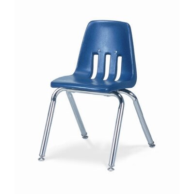 "Virco 9000 Series 14"" Polyethylene Classroom Glides Chair"