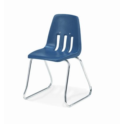 "Virco 9000 Series 14"" Plastic Classroom Sled-Based Chair"