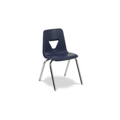 "Virco 2000 Series 18"" Plastic Classroom Glides Chair"