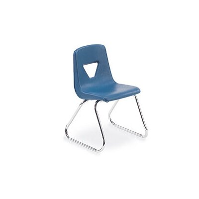 "Virco 2000 Series 14"" Polypropylene Classroom Sled Stacking Chair"