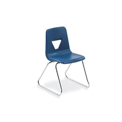 "Virco 2000 Series 18"" Polypropylene Classroom Sled Stacking Chair"