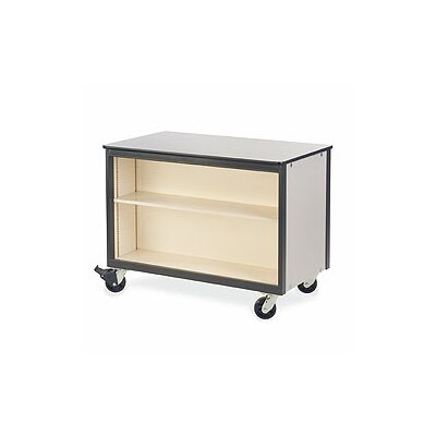 Virco 2300 Series Mobile Cabinet with Adjustable Shelf