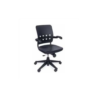 Virco Ph.D. Mid-Back Plastic Executive Chair
