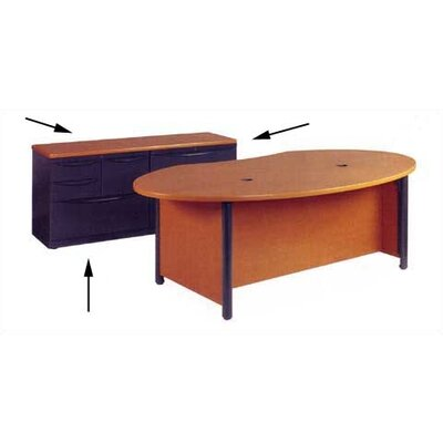 "Virco Plateau Office 62"" File Credenza"