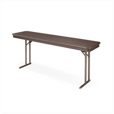 "Virco 6100 Series Folding Table (18"" x 72"")"