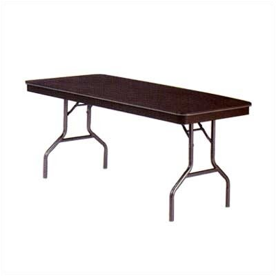 "Virco 6100 Series Adjustable Folding Table (30"" x 96"")"