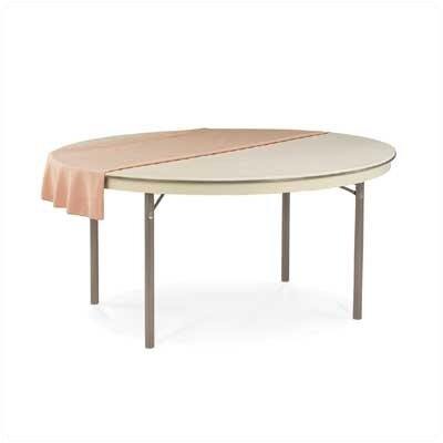"Virco 6100 Series 66"" Round Folding Table"