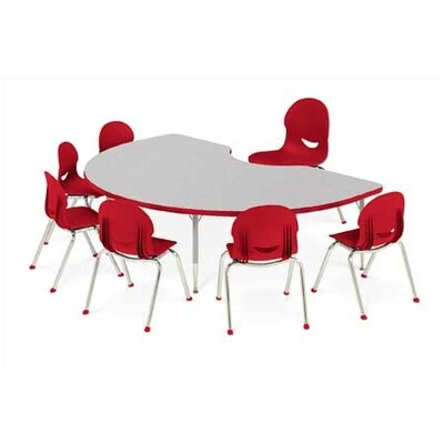 "Virco 4000 Series Activity Table with Short Legs (30"" x 72"")"