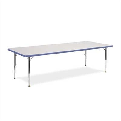 Virco 4000 Series Preschool Primary Collection Activity Table (Large)
