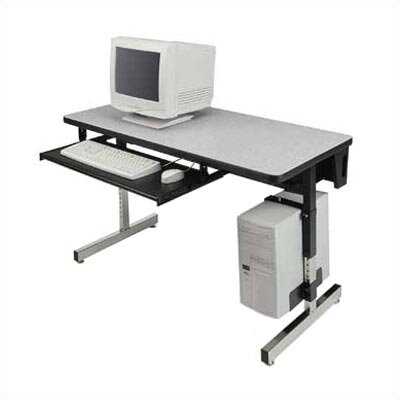 "Virco 8700 Series 36"" W x 24"" D Computer Table"