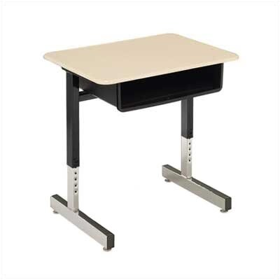 Virco Laminate Open Front Plastic Student Desk