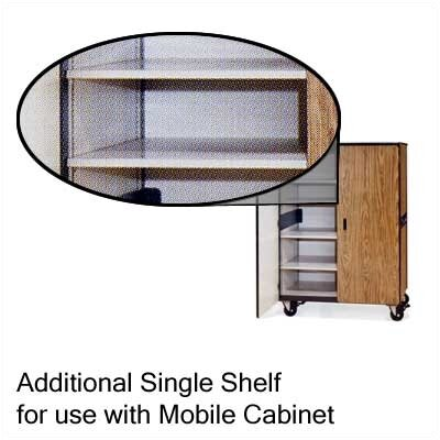 "Virco Steel Shelf for Mobile Cabinet (48"" x 12"")"