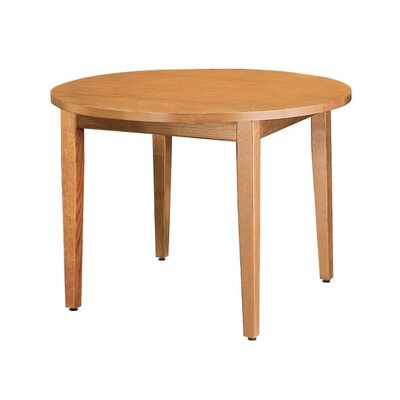 Virco Round Library Table with Laminate Top