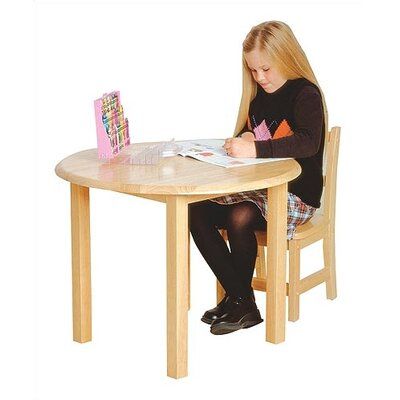 Virco Children's Hardwood Round Table