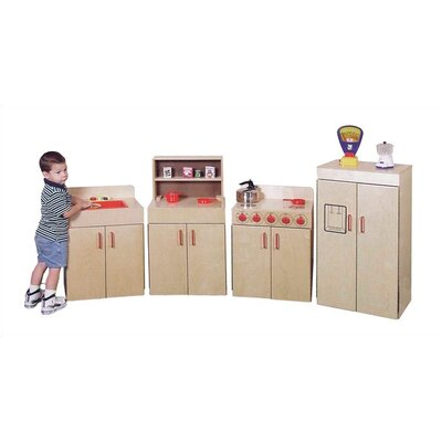 Virco 4-Piece Children's Kitchen Set