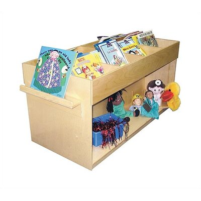 "Virco 24"" Book Browser Cart"