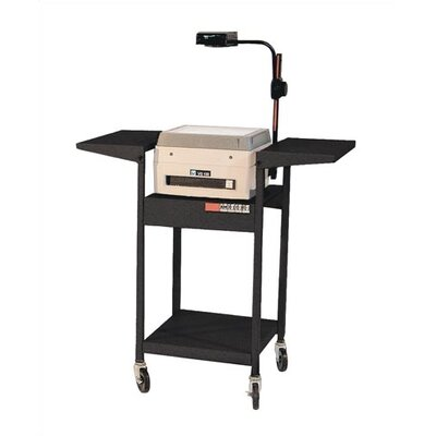 Virco Adjustable Height Cart w/ Overhead, 2 Shelves