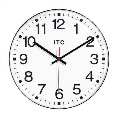 "Virco 12"" Wall Clock"