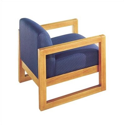 Virco Lounge Chair with Sled Base