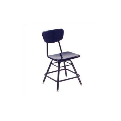 "Virco 3000 Series 21"" Plastic Classroom Glides Chair"