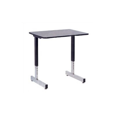 Virco Laminate Student Desk with Cantilever Leg