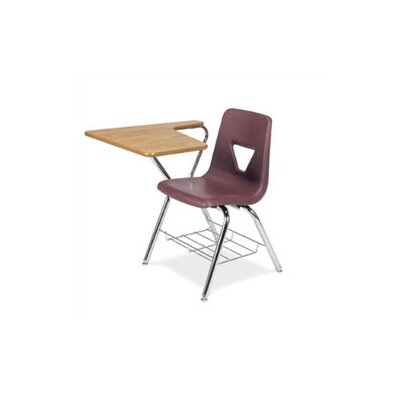 "Virco 2000 Series 30"" Plastic Combo Chair Desk with Tablet Arm"