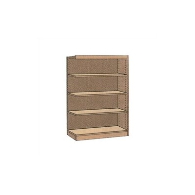 "Virco Single-faced Library 60"" Bookcase"