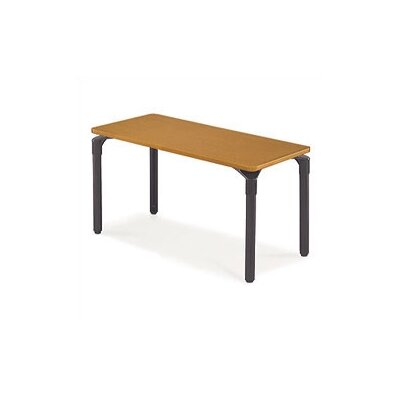 "Virco Plateau Table with Casters - 26"" High (30"" x 72"" top)"