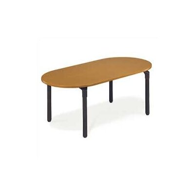 "Virco Race Track Plateau Table - 27"" High"