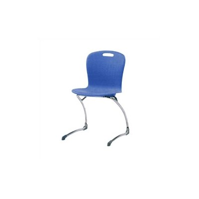 "Virco Sage Series 19"" Plastic Classroom Cantilever Chair"