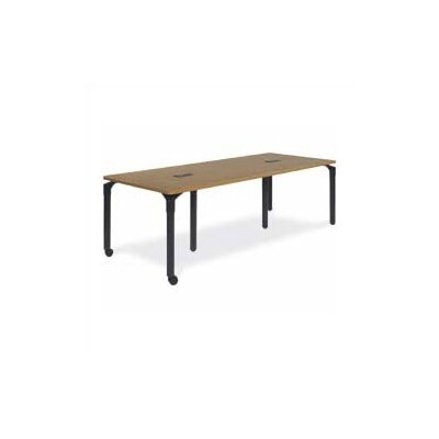"Virco Plateau Table - 29"" High (36"" x 90"" top) with Caster and Grommet Hole Options"