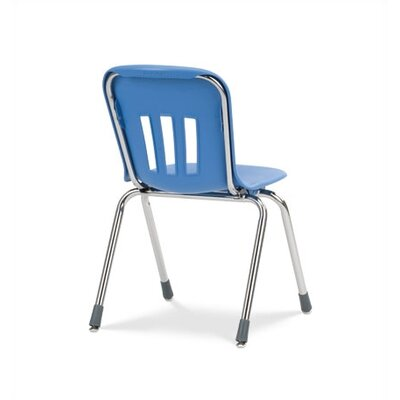 "Virco Metaphor Series 16""  Plastic Classroom Glides Chair"