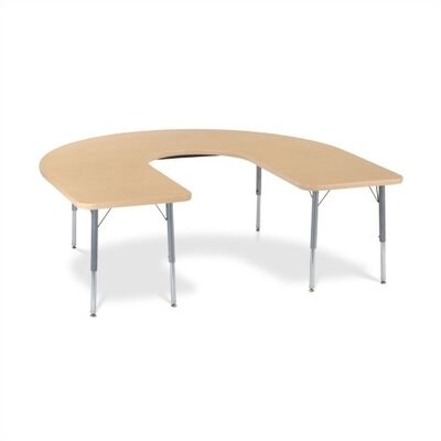 Virco 4000 Series Deep-Center Horseshoe Activity Table