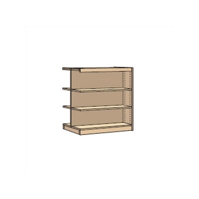 "Virco Double-Faced Periodical 42"" Bookcase"