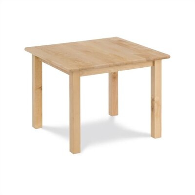 "Virco Children's Hardwood Table with 18"" Legs (24"" x 24"")"