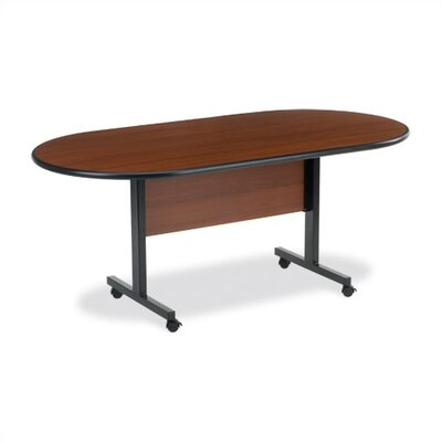 Virco Racetrack Conference Table
