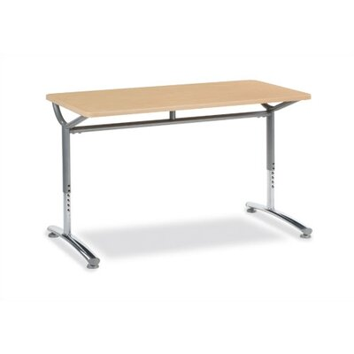"Virco Customizable 20"" and 24"" Text Series Table"