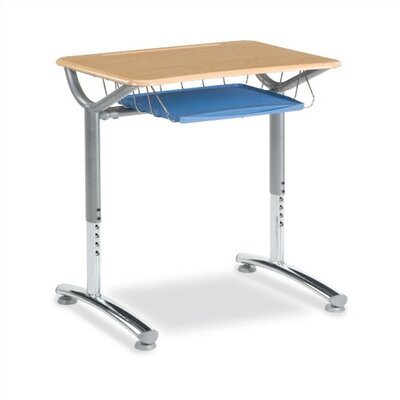 Virco Text Series 20&quot; Plastic Student Desk