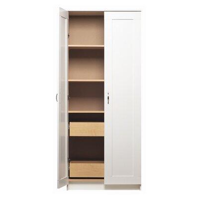 Akadahome 72 kitchen pantry reviews wayfair for Wayfair kitchen cabinets
